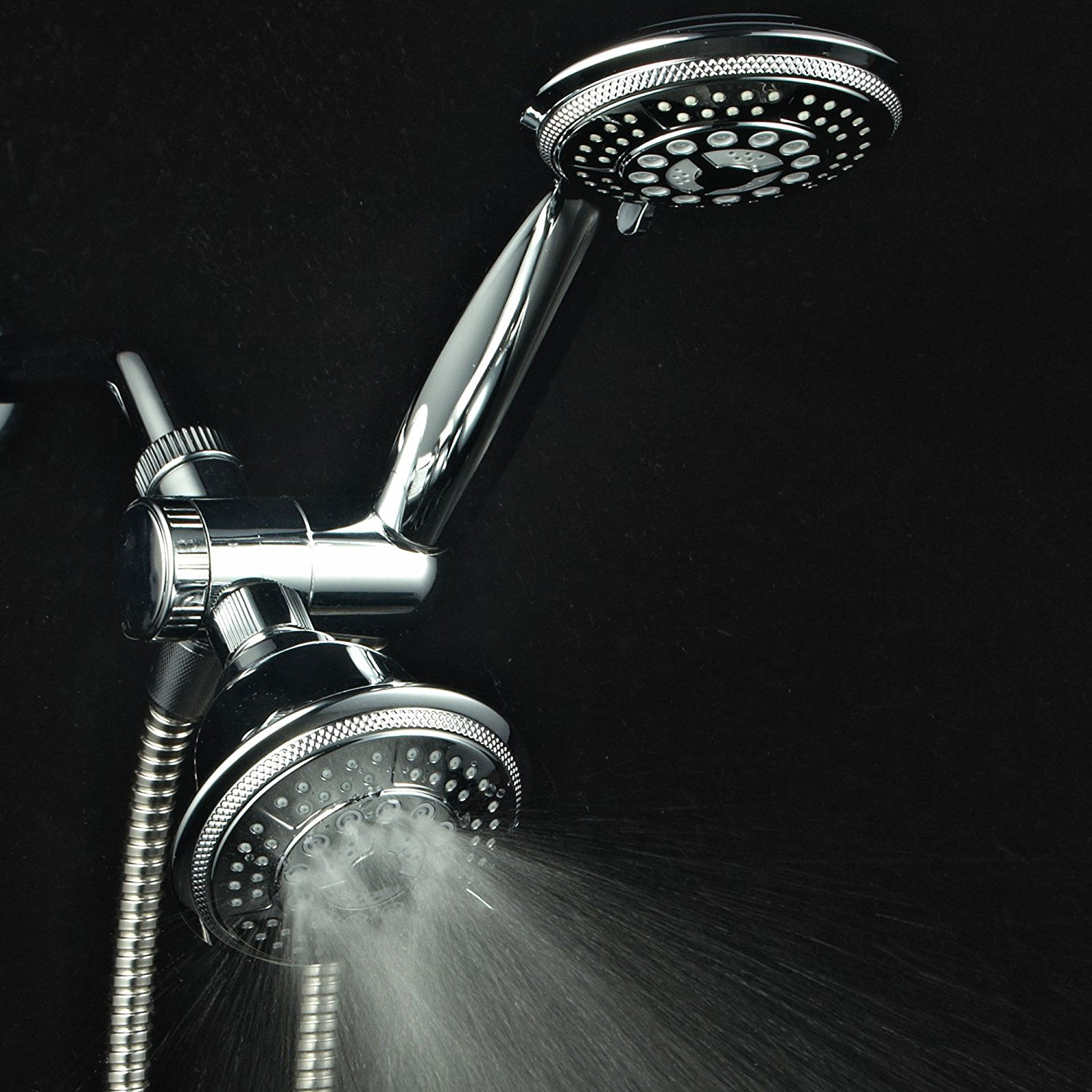 Hydroluxe Full Chrome Ultra Luxury Shower Head Best Offer