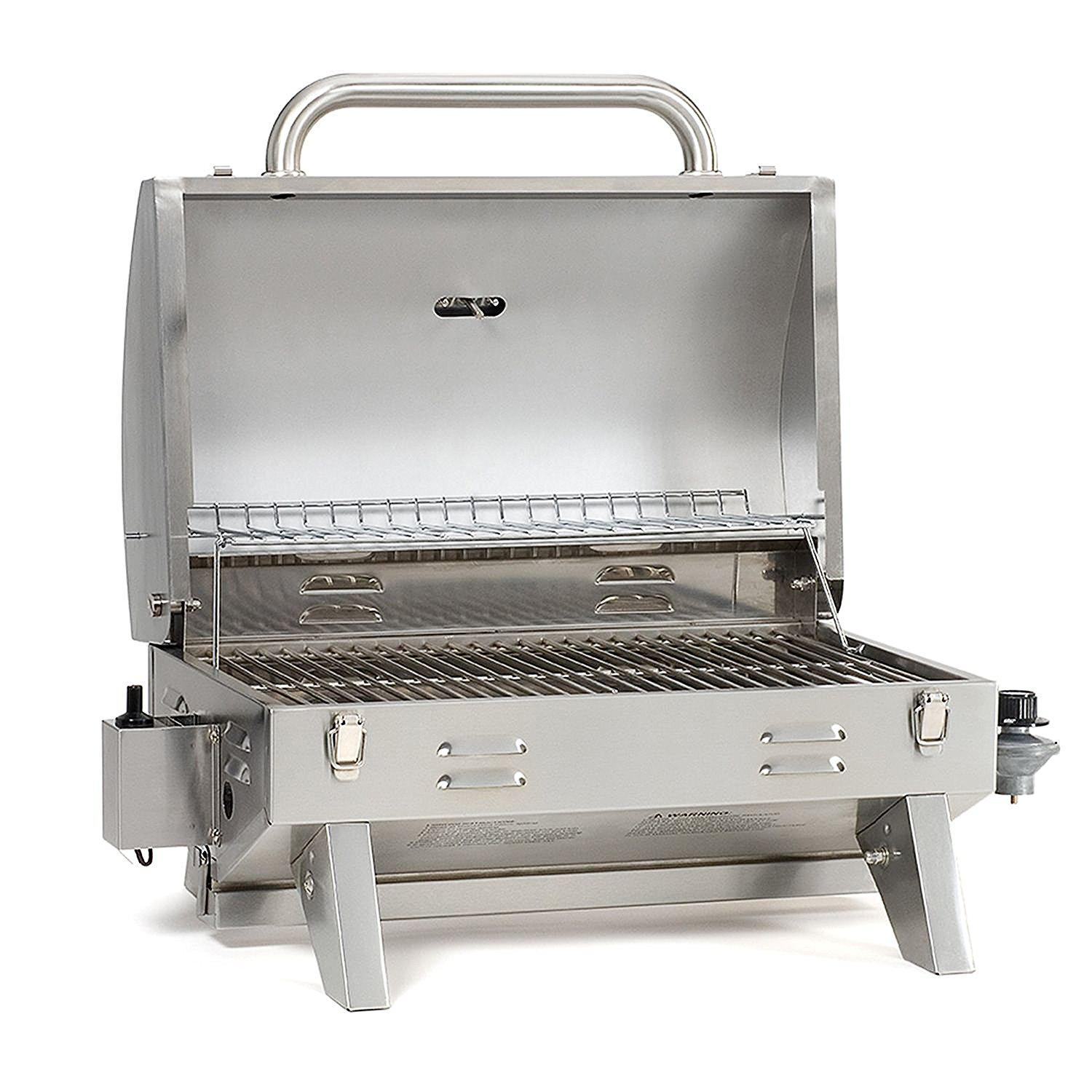Stainless steel tabletop propane gas grill best offer reviews