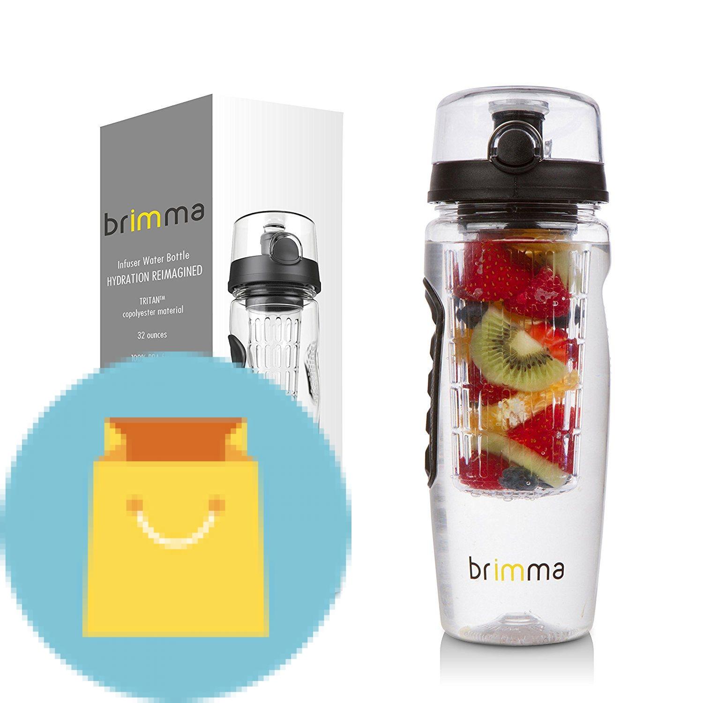 Brimma Leak Proof Fruit Infuser Water Bottle Best Offer ...