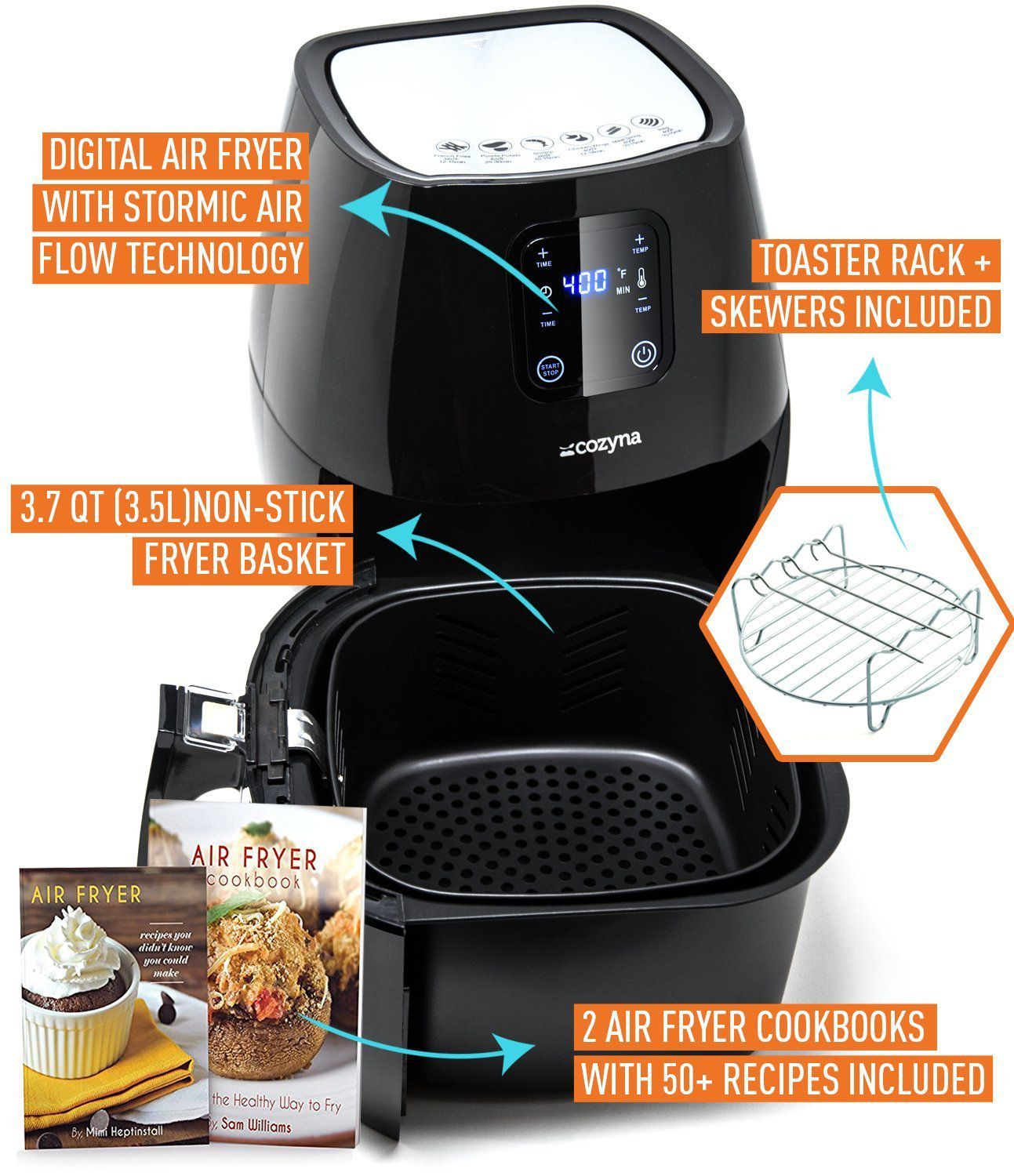 how to use lumina air fryer