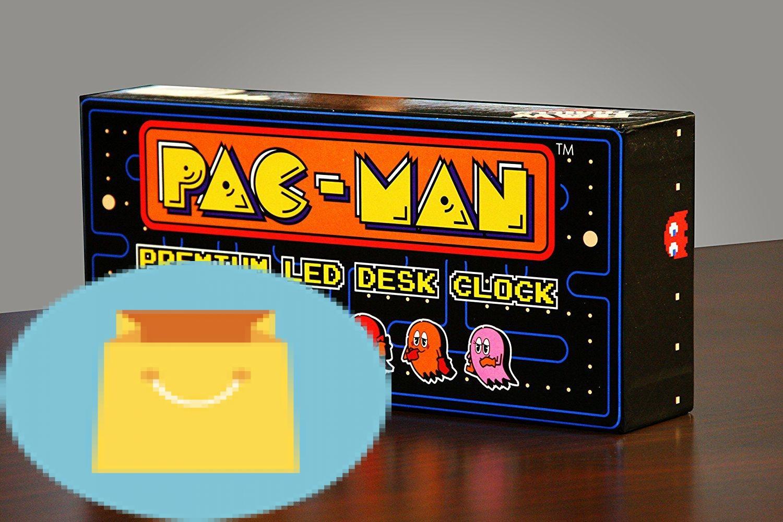 PAC-MAN Premium LED Desk Clock Best Offer Reviews