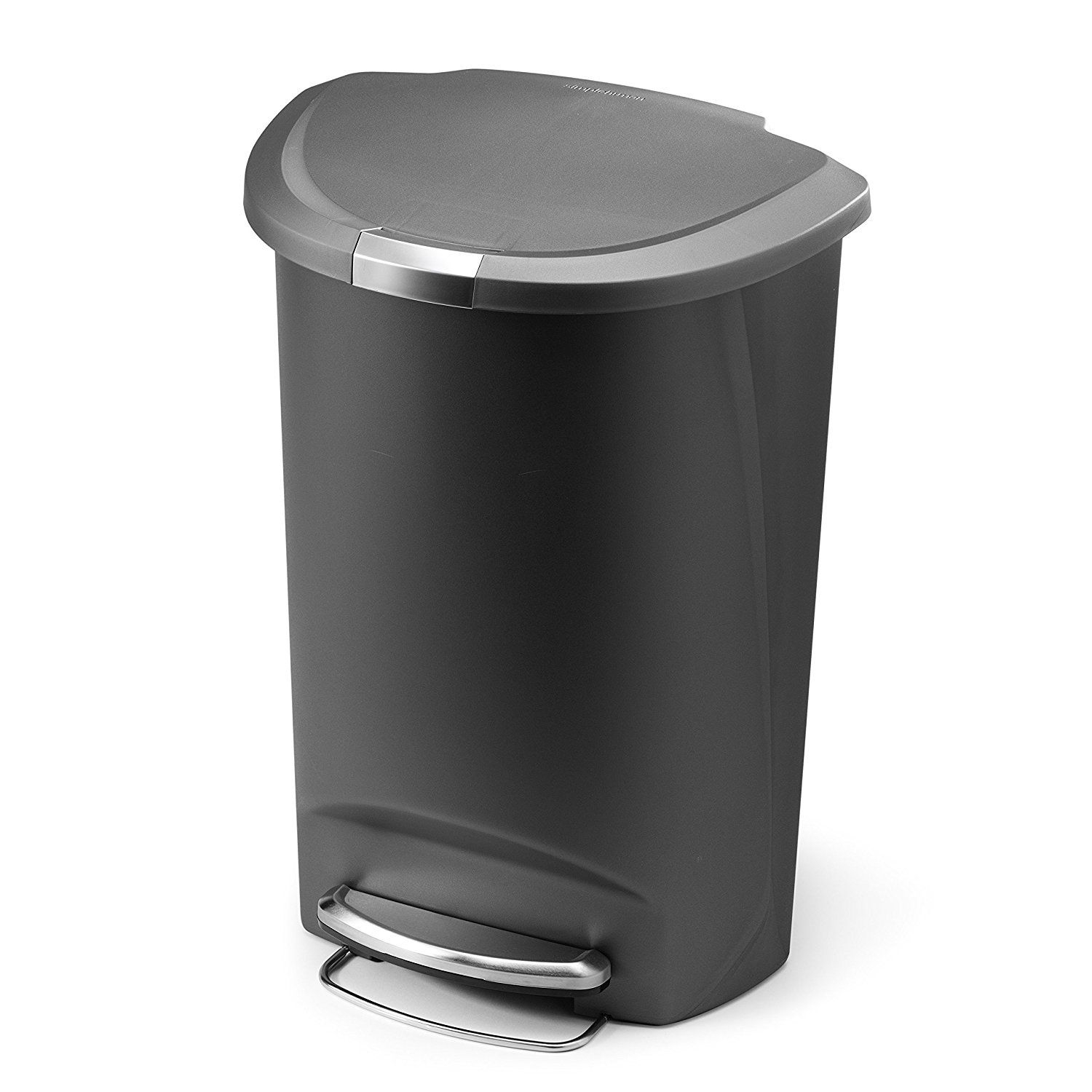 Simplehuman Semi-Round Step Trash Can Best Offer ...