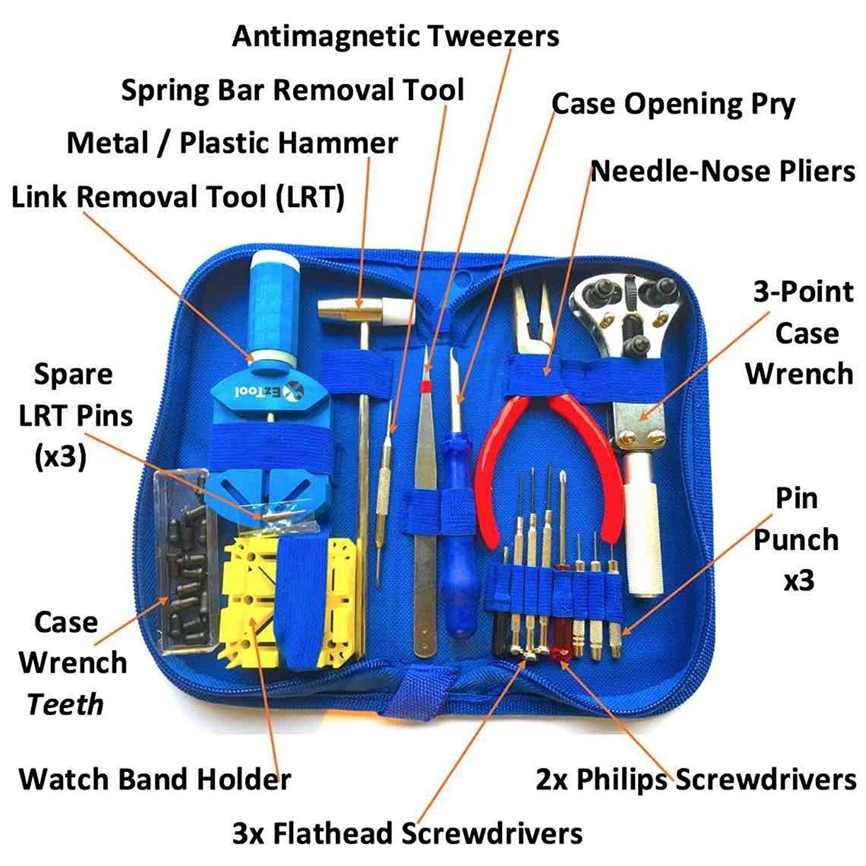EZTool Watch Repair Tool Kit Best Offer INeedTheBestOffer