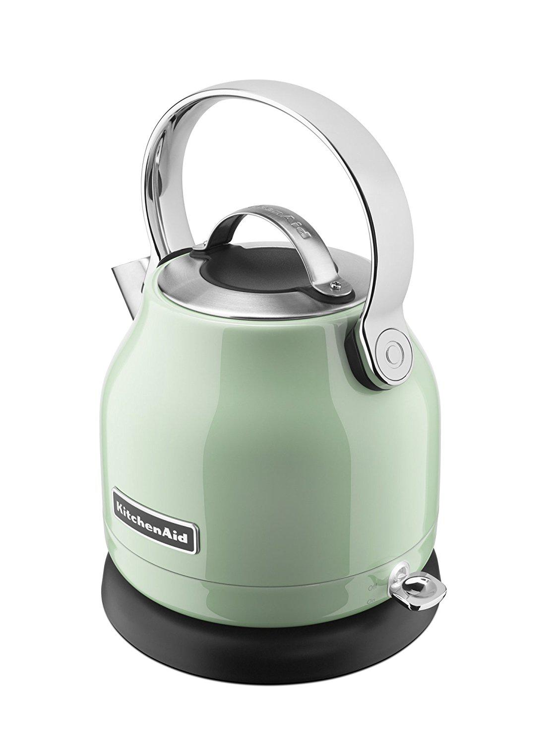 Kitchenaid 1 25 Liter Electric Kettle Pistachio Best Offer