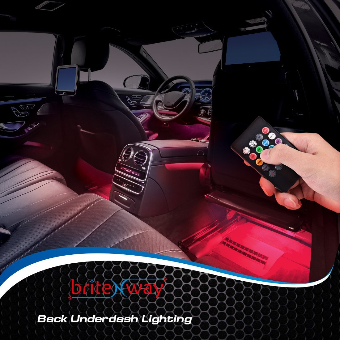 car interior lights - 7 colors and multiple patterns for