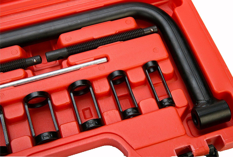 Best Car Tools : Auto solid valve spring compressor automotive tool set