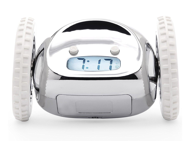 Clocky, The Original Runaway Alarm Clock on Wheels Best ...