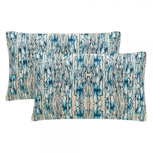 Currents Sky Beige Throw Pillows