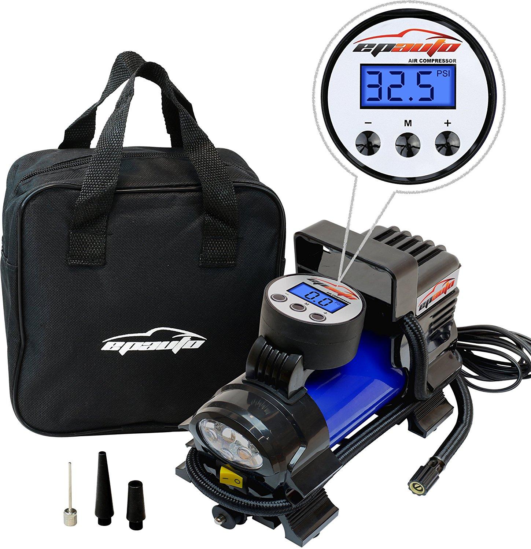 EPAuto 12V DC Portable Air Compressor Pump Best Offer