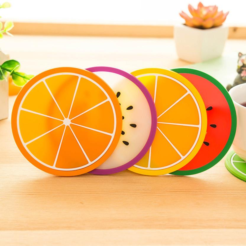 fruit silicone dining table placemats best offer