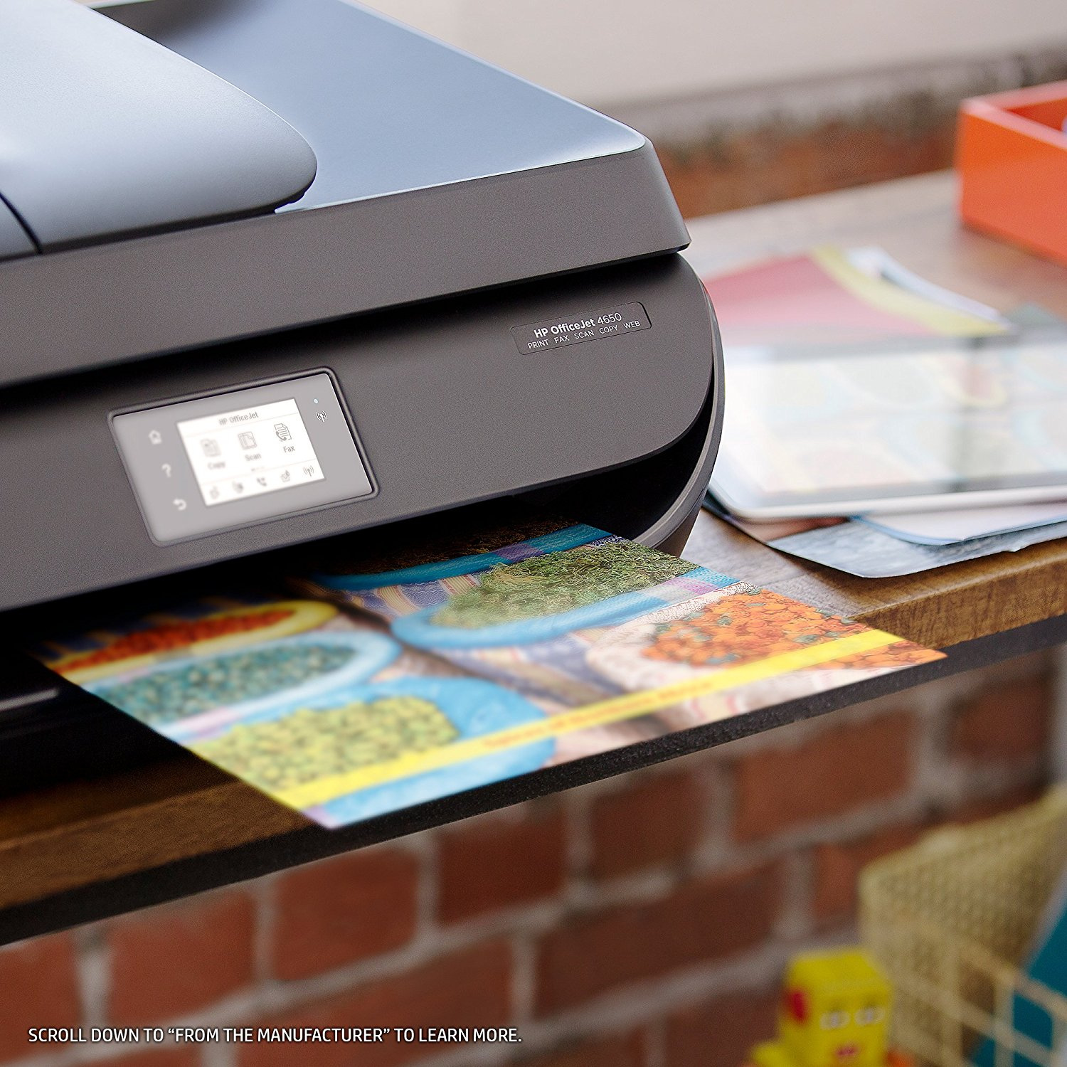 HP OfficeJet 4650 Wireless All-in-One Photo Printer Best