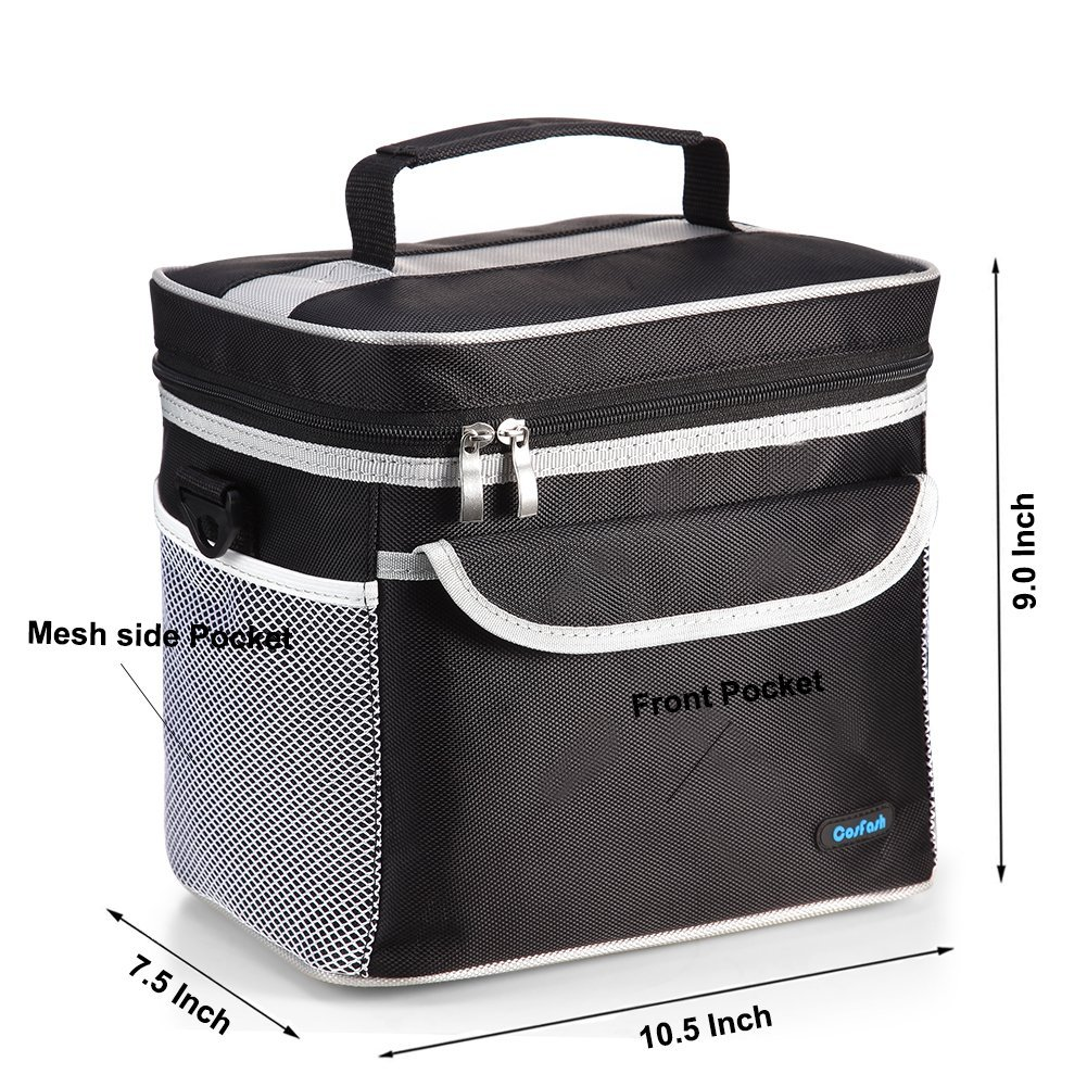 lunch box cooler insulated lunch cooler bag large lunch box tote best 31344