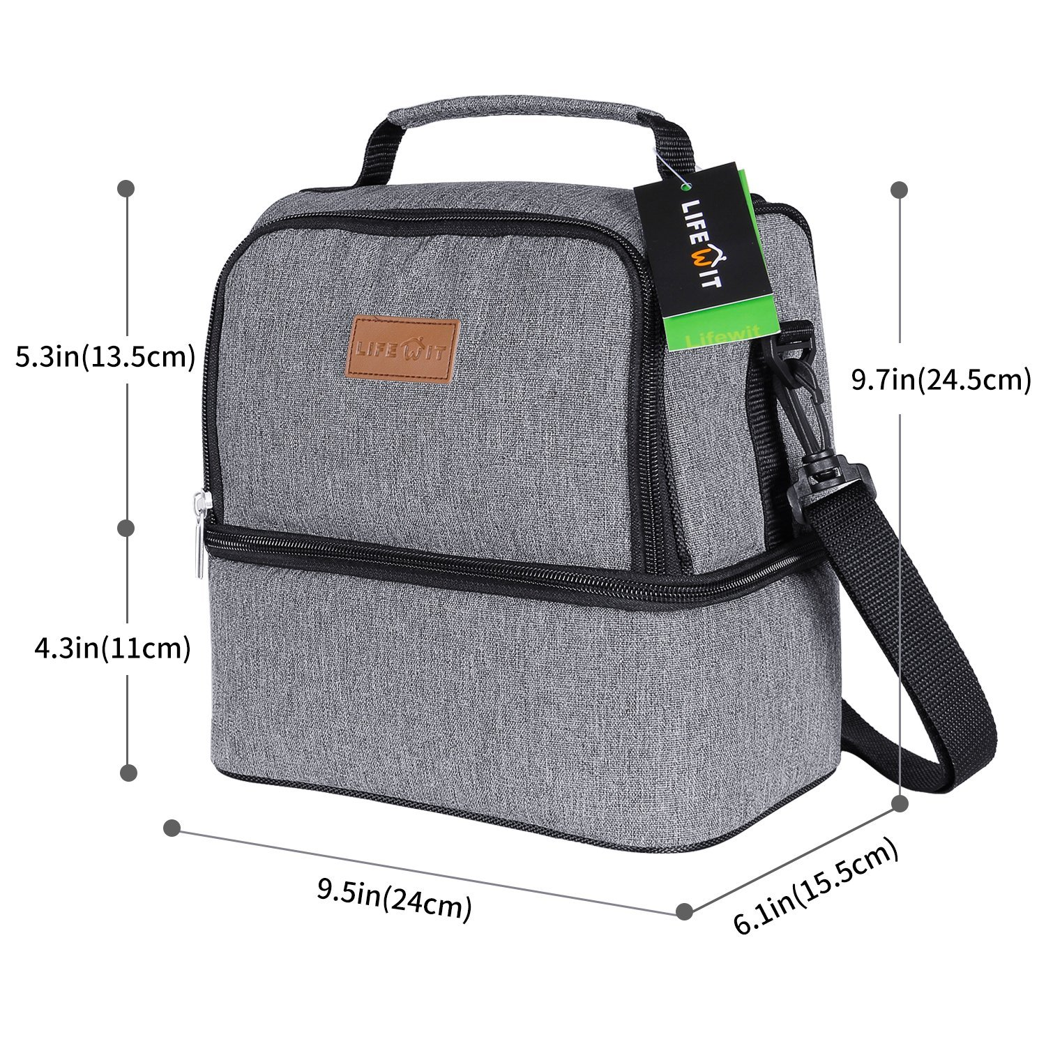 Lifewit Insulated Lunch Box Thermal Lunch Bag Best Offer