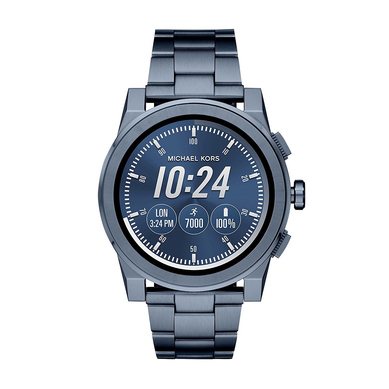 michael kors men 39 s ionic plated grayson smart watch best offer. Black Bedroom Furniture Sets. Home Design Ideas