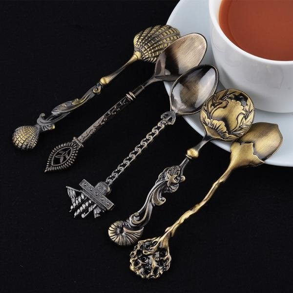 Mini Dessert Spoons x5