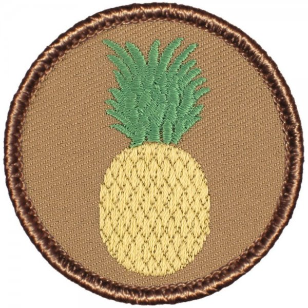 Pineapple Patrol Patch - Round!