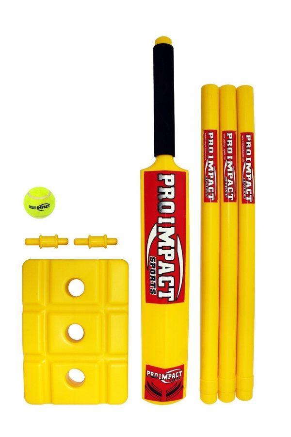 Pro Impact Plastic Beach Cricket Set Size 5