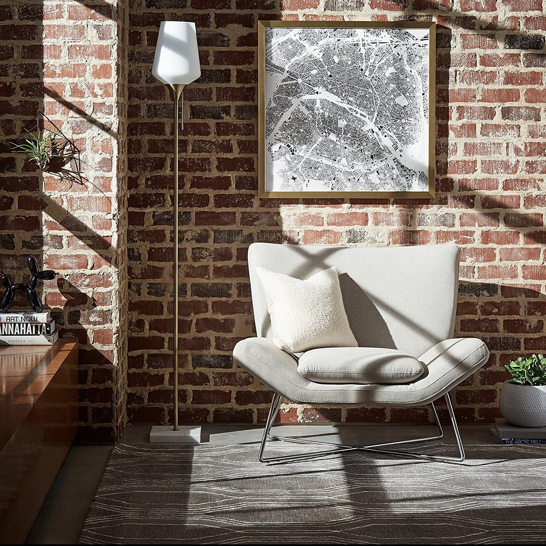 Rivet Farr Lotus Accent Chair Best Offer Reviews