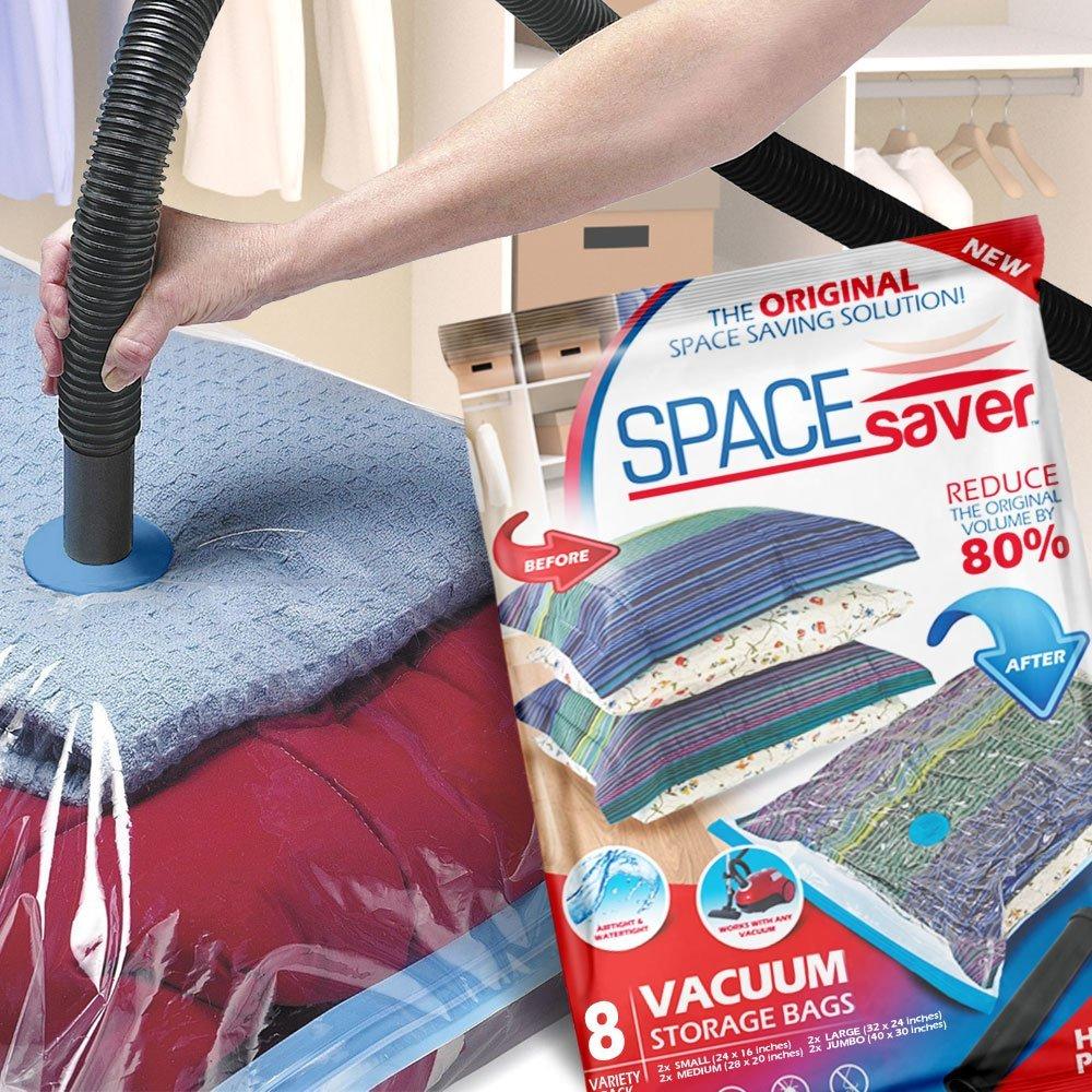 Spacesaver Premium Vacuum Storage Bags 8 Pack Best Offer