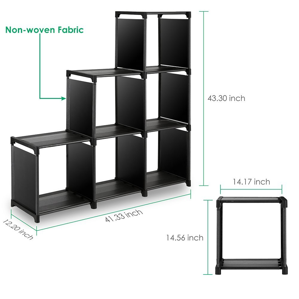 Do It Yourself Home Design: TomCare Cube Storage 6-Cube Closet Organizer Shelves Best