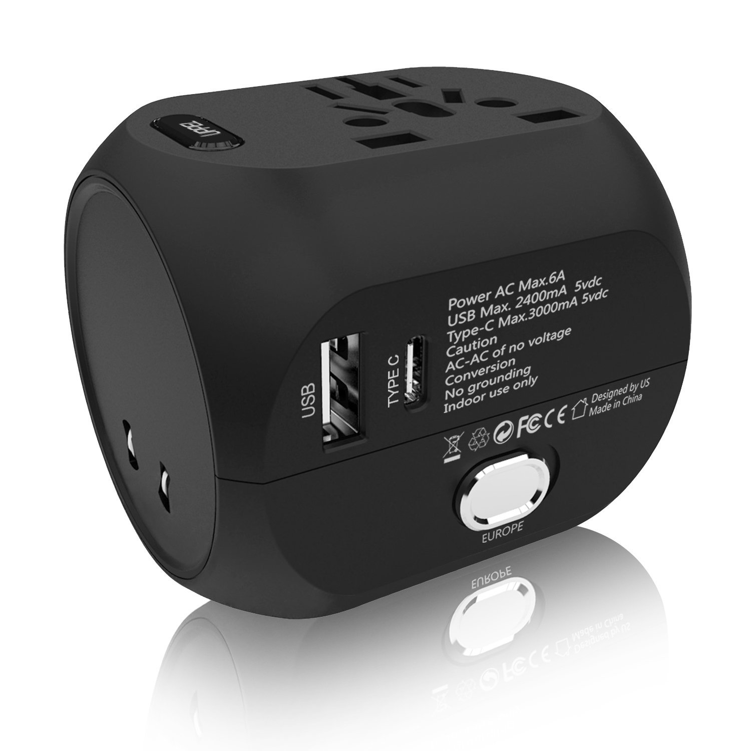 Uppel All In One International Travel Charger Best Offer
