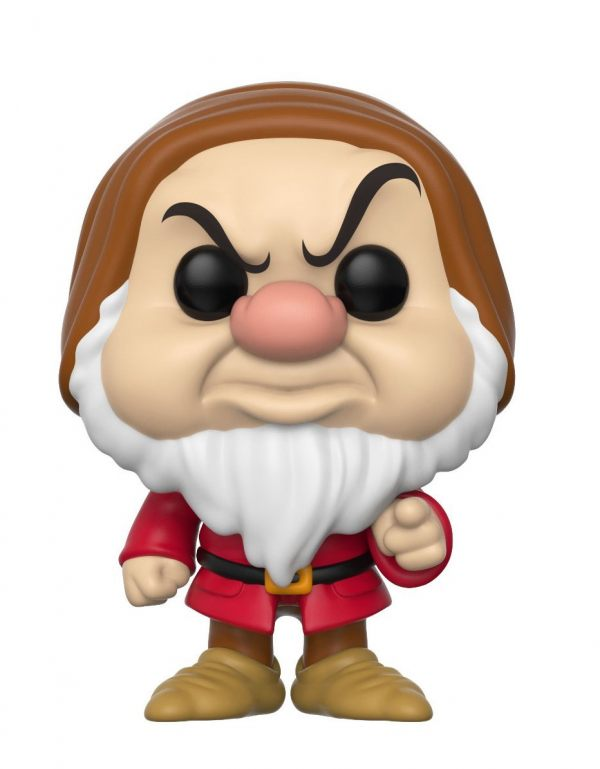 White-Grumpy Collectible Vinyl Figure