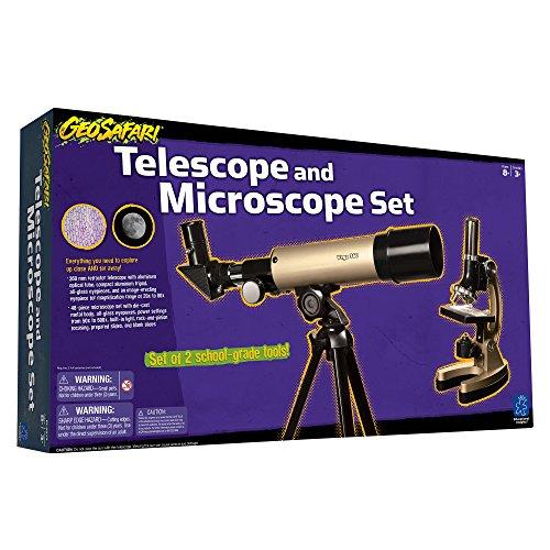 Educational Insights GeoSafari Telescope & Microscope Set ...
