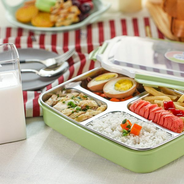 DUOLVQI Stainless Steel Lunch Boxs Containers With Compartments