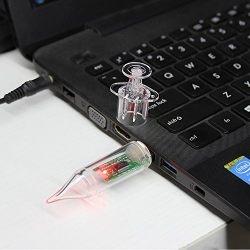 Flash Drive Cartoon Round Syringe Injector Shape