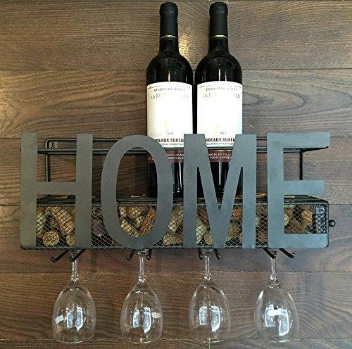 Wall Wine Rack Glass Holder Amp Wine Cork Storage Best