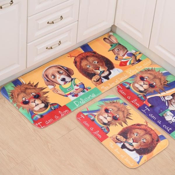 Cartoon Print Carpet