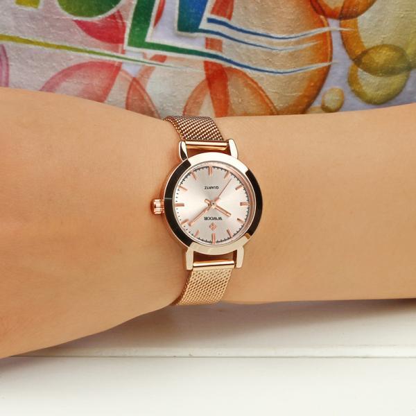 Rose Gold Women Watch Ladies Bracelet