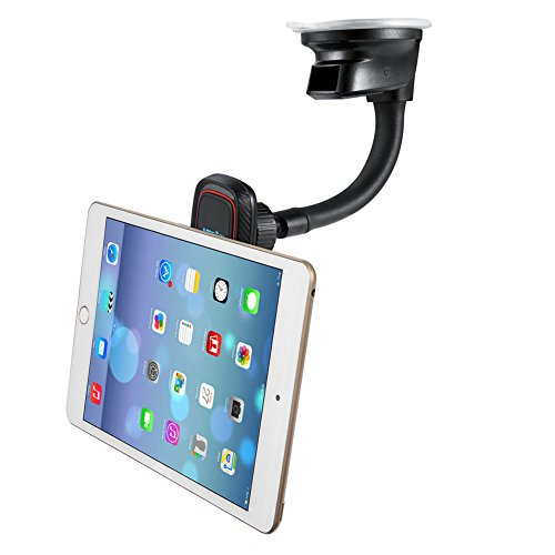 Car Mount Holder Cradle,Car Phone Mount for iPhone 7/7 Plus/6S/6/6S Plus/6 Plus/5/5S/SE/5C, Galaxy S5/S6/S6 Edge/S7/S7 Edge/S8/S8 Plus,Note 5,Nexus 6,LG and More (Dashboard Magnetic-Black+Red)