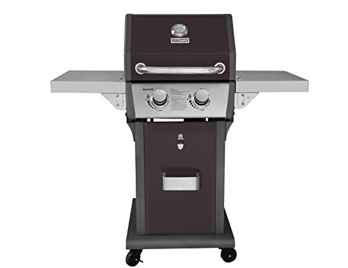 Royal Gourmet 2 Burner Patio Propane Gas Grill, Dark Brown