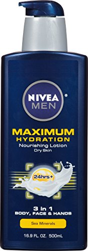 NIVEA Men Maximum Hydration 3 in 1 Nourishing Lotion