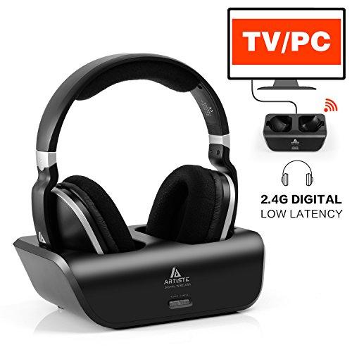 Wireless TV Headphones Over Ear Headsets