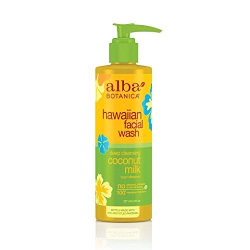 Alba Botanica Hawaiian Nourishing Face Wash, Coconut Milk