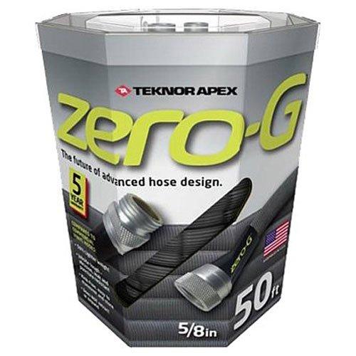 Teknor Apex zero Lightweight, Ultra Flexible, Durable, Kink-Free Garden Hose, 5/8-Inch by 50-Feet