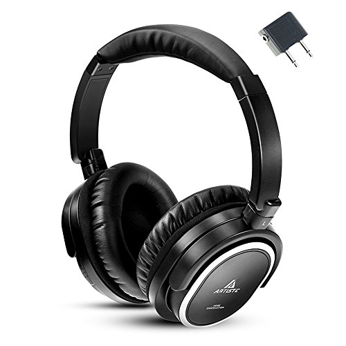 Artiste Noise Cancelling Headset, Wired HIFI Headphone with Mic