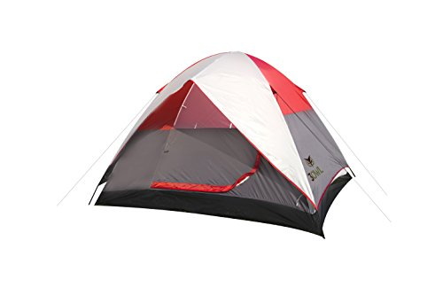 3OWL Everglades 4-Person Tent Perfect for Hiking, Camping, and Outdoors