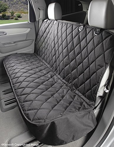 4Knines Dog Seat Cover without Hammock for Cars, SUVs, and Small Trucks