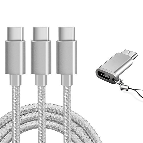 USB Type C Cable, Marge Plus USB C Cable 3 Pack