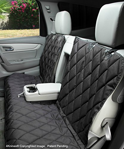 Dog Seat Cover without Hammock for Fold Down REAR BENCH SEAT 60/40 spli