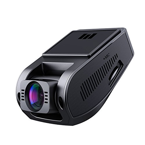 "AUKEY Dash Cam, Dashboard Camera Recorder with Full HD 1080P, 6-Lane 170° Wide Angle Lens, 2"" LCD and Night Vision"