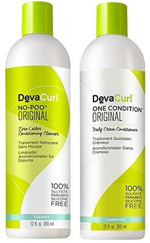 Devacurl No-poo & One Condition - 12oz