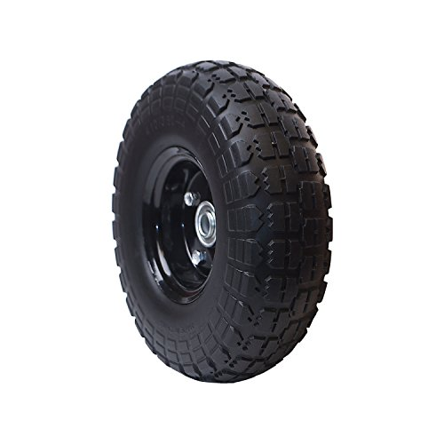 Anti Flat Replacement Turf Wheels for Wheelbarrow 10 Inches
