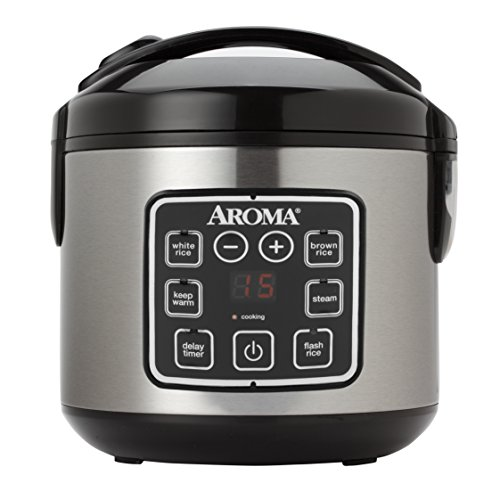 Digital Cool-Touch Rice Cooker and Food Steamer,