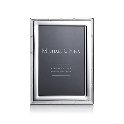Michael C Fina Madison Frame, Sterling Silver, 4-Inch-By-6-Inch