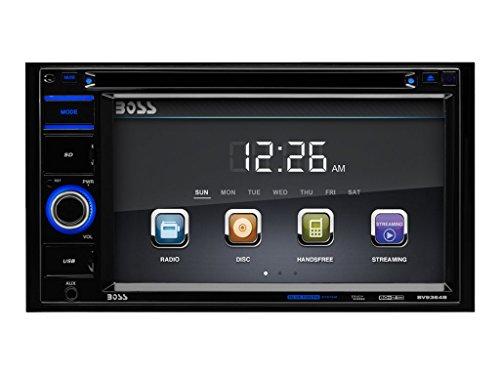 BOSS Audio Double Din, 6.2 Inch Digital LCD Monitor, Touchscreen, DVD/CD/MP3/USB/SD AM/FM, Bluetooth