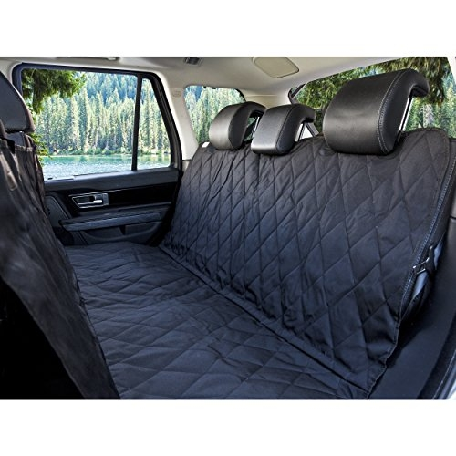 BarksBar Pet Car Seat Cover with Seat Anchors for Cars, Trucks and SUV's